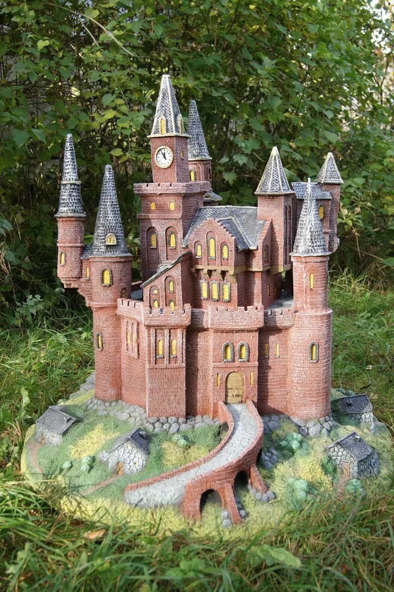 Дом-замок своими руками