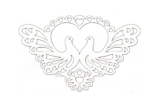 Голубь ажурный из бумаги шаблоны для вырезания, открытки картинки-цветы