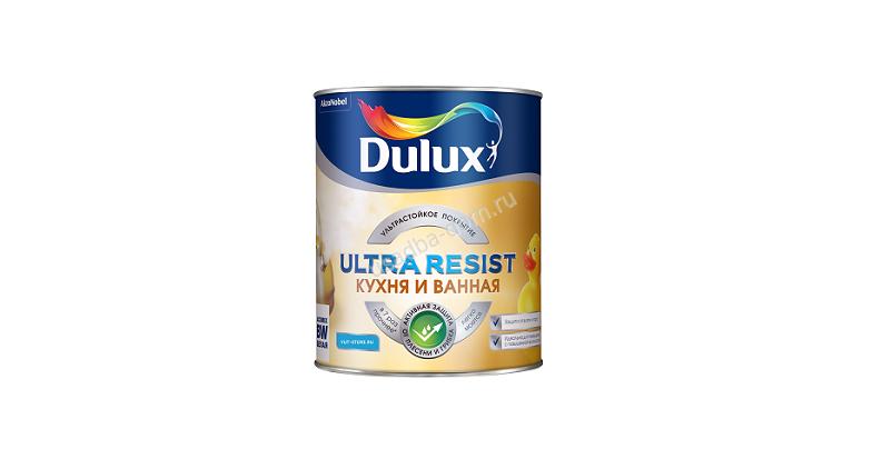 Краска dulux для кухни и ванной матовая