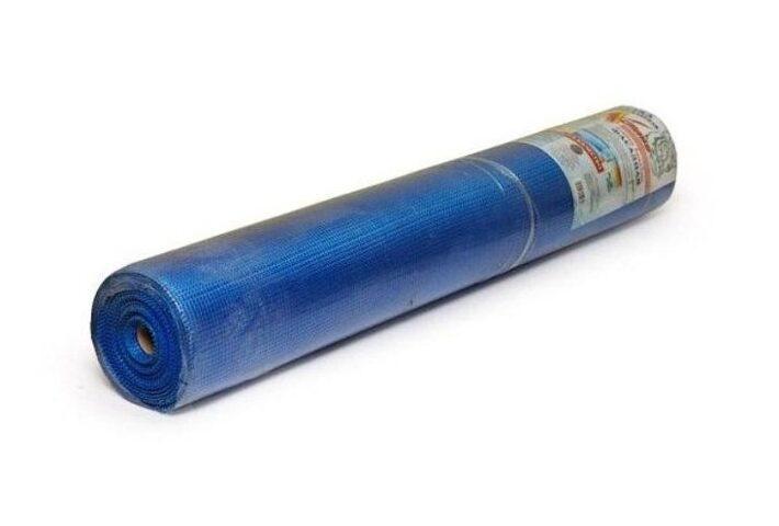 Сетка фасадная синяя 5*5мм 160 г/м2 (1*10м)