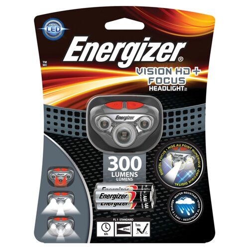 Фонарь Energizer HL Vision HD+Focus Headlight 315Lm HDD322