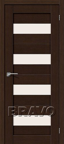 Дверь 3DG Порта-23 3D Wenge Magic Fog 200*70