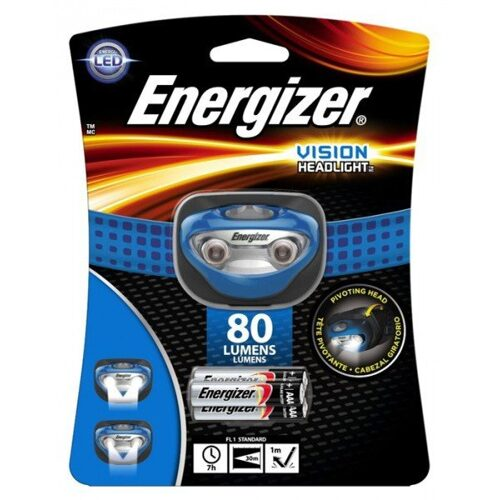 Фонарь Energizer Headlight 2AAA tray HDV221